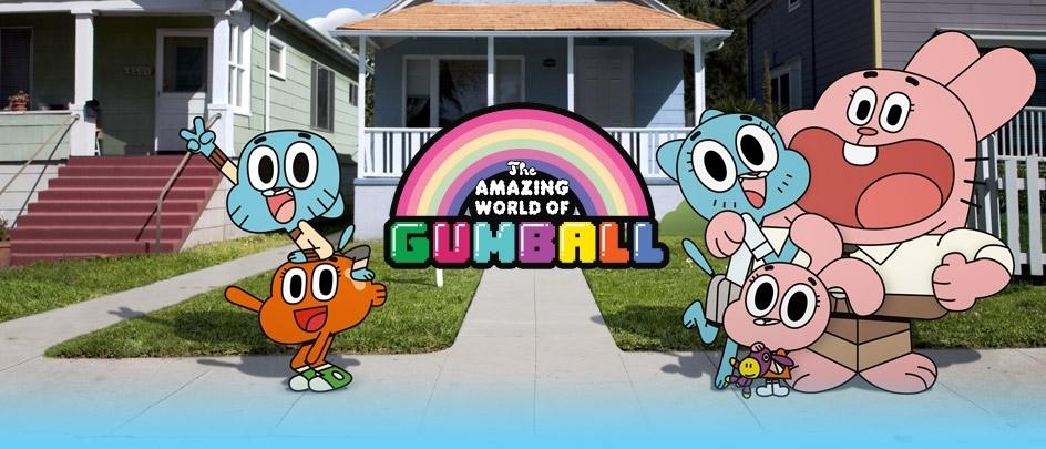The Amazing World of Gumball | Game | Wheels of rage | Cartoon Network
